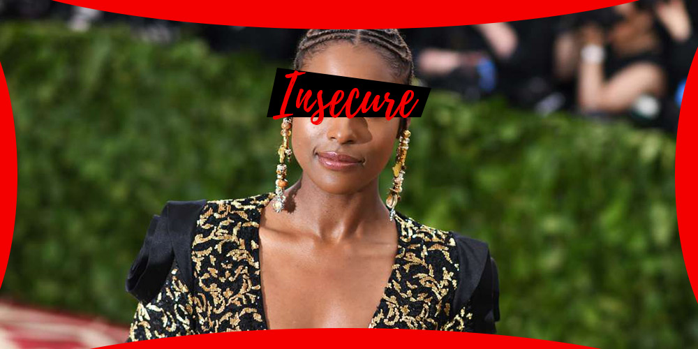 Issa Rae de Insecure en una alfombra roja