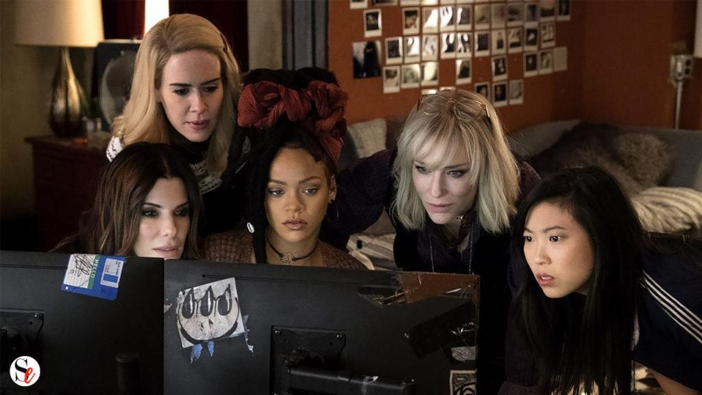 Personajes de Ocean's 8 en una escena de la película
