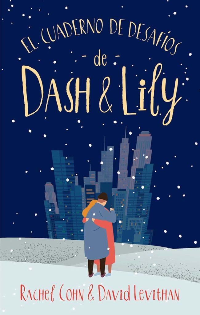 Portada del libro El cuaderno de desafios de Dash y Lily