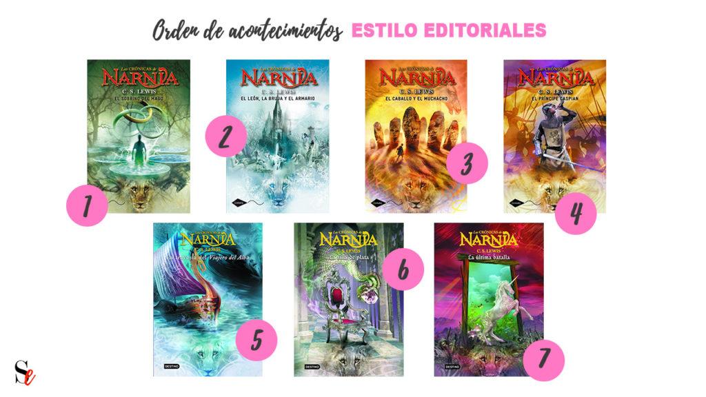 Cronicas de narnia orden