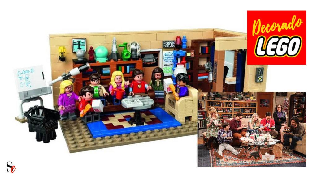 Escenario LEGO de The Big Bang Theory