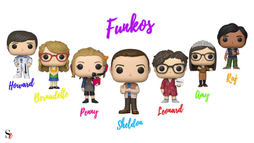 Funkos de The Big Bang Theory