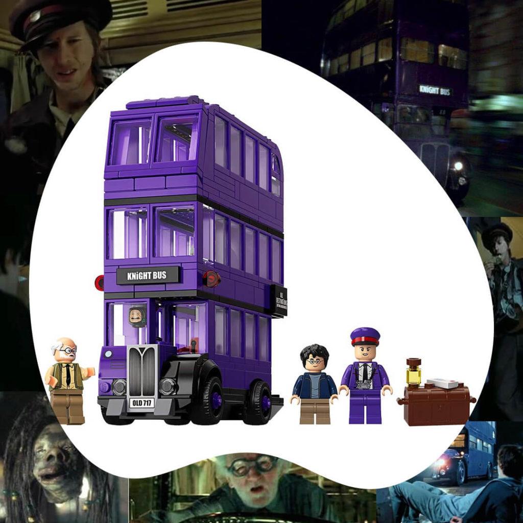 Harry Potter autobús nocturno Lego
