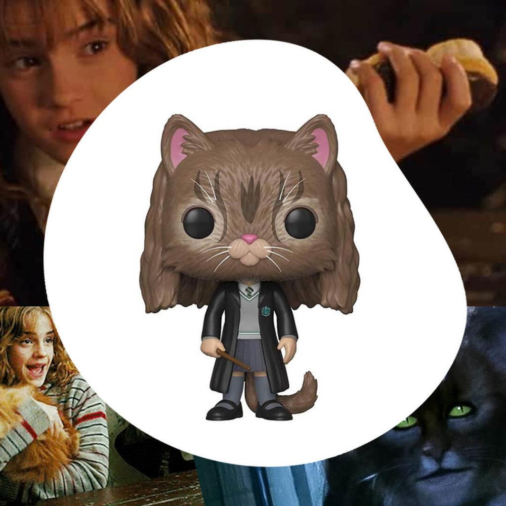 Funko del Hermione convertida en gata