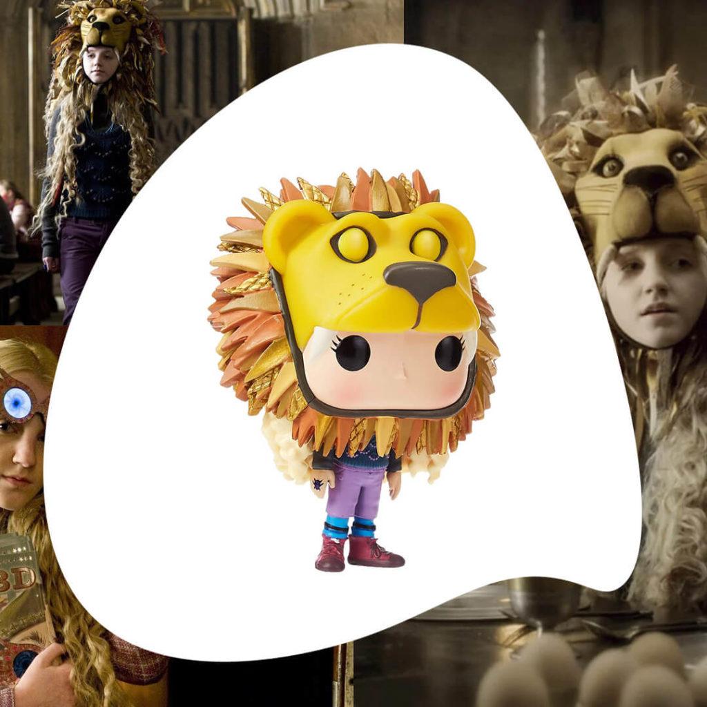 Funko Luna con gorro de león
