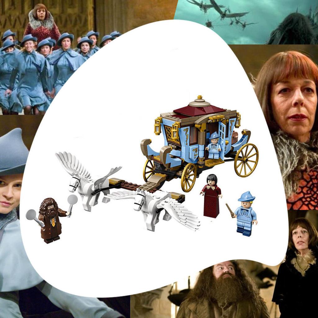 Harry Potter carruaje Lego