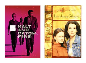 Halt and catch fire y Las Chicas Gilmore