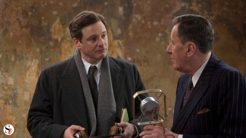 Bertie y Lionel en El discurso del rey